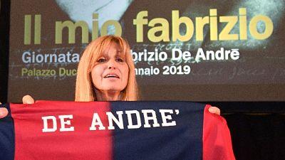 De Andrè: ricordo Genoa con un video