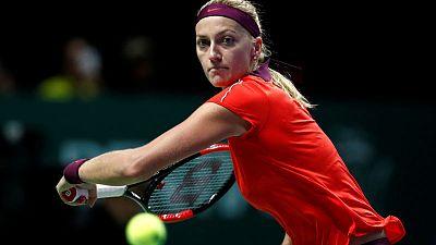 Kvitova thumps Sasnovich to set up Sydney final with Barty