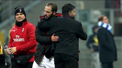 Gattuso, spero Higuain rimanga a lungo