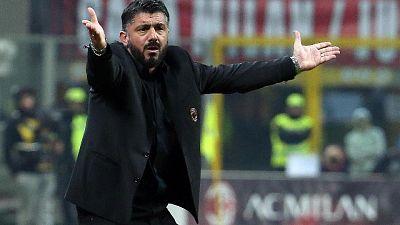 Gattuso, Coppa Italia non è una vacanza
