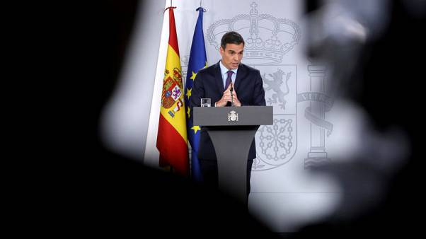 Spanish draft budget ups social spending, taxes rich in vote hunt