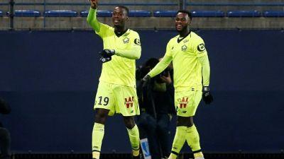 Ligue 1: Pépé régale, Lille creuse l'écart à Caen