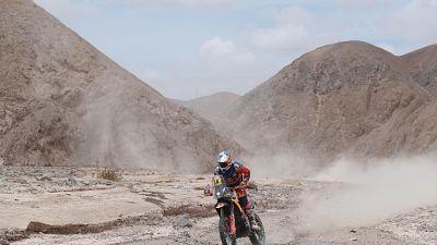 Dakar: moto, 5/a tappa a Sunderland