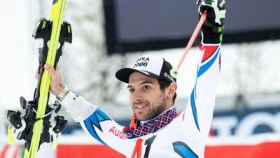 Géant d'Adelboden: le ski d'or, Faivre