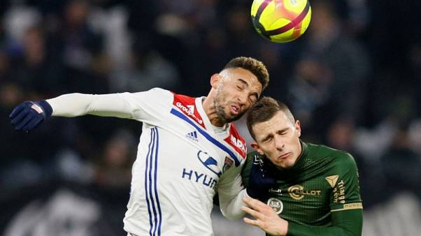Lyon lose ground in battle for second with Reims draw