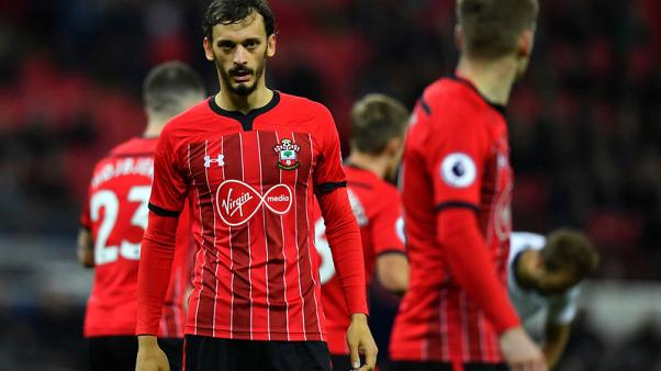 Southampton's Gabbiadini returns to Sampdoria