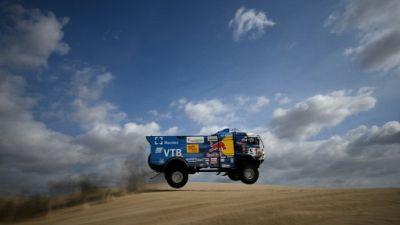 Dakar-2019: un spectateur blessé par un camion