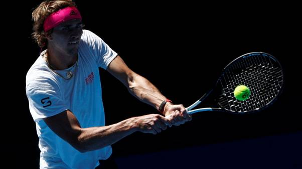 Zverev searching for Grand Slam 'mentality' in Melbourne