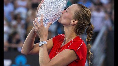 Sydney, vittoria alla ceca Kvitova