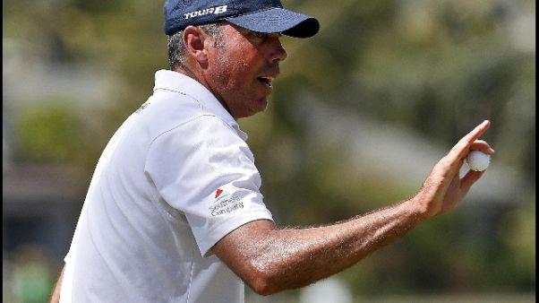 Golf, Sony Open, Kuchar in testa
