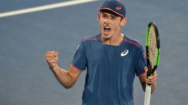 Tennis: premier titre pour De Minaur, à Sydney