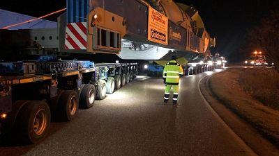 Trasporto eccezionale da 600 tonnellate