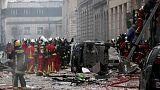 أربعة قتلى ونحو 50 مصابا في انفجار ناجم عن تسرب غاز بباريس