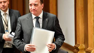 Swedish Centre Party formally backs Social Democrat's Lofven for PM