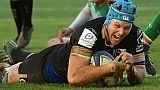 Rugby: Montpellier étrille Newcastle et préserve un espoir