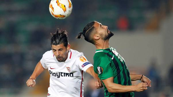Sevilla winger Nolito out for three months after leg break