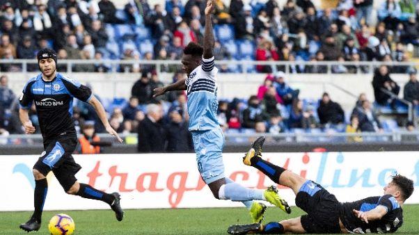 C.Italia: 4-1 al Novara, Lazio ai quarti