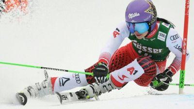 Ski alpin: fin de saison pour Anna Veith, de nouveau blessée
