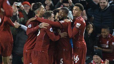 Premier: Liverpool vince e vola a +7