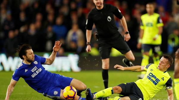 Huddersfield end losing run with 0-0 draw at Cardiff