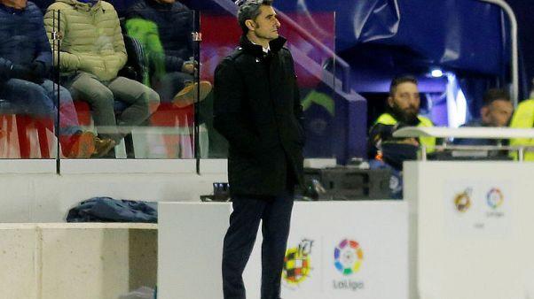 Barcelona on lookout for striker after Munir sale - Valverde