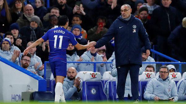 Sarri seeks reinforcements as Chelsea strengthen grip on fourth
