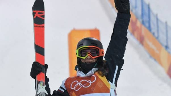 La Française Perrine Laffont aux JO de Pyeongchang le 11 février 2018