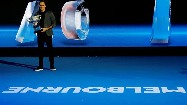 Federer feeling 'lucky' ahead of hat-trick bid in Melbourne