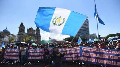 Guatemala: manifestation contre la fin de la mission anticorruption de l'ONU