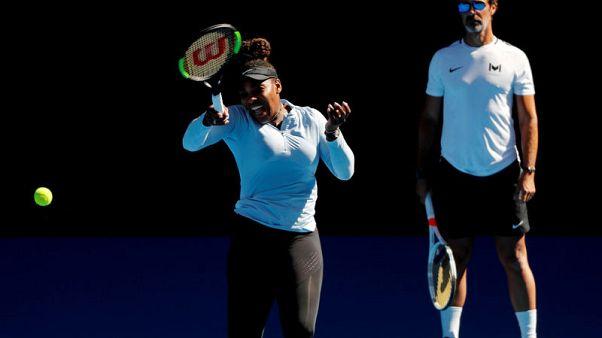 Tennis - Serena ready to claim first Slam as a mum: coach