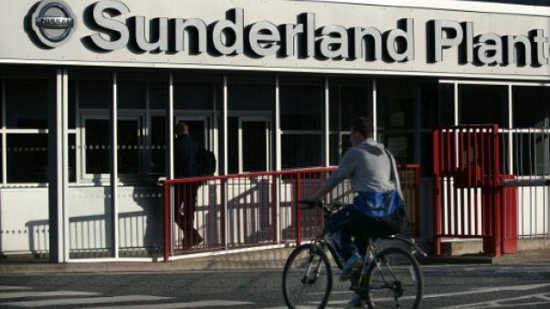 L'usine Nissan à Sunderland, le 25 octobre 2016 au Royaume-Uni
