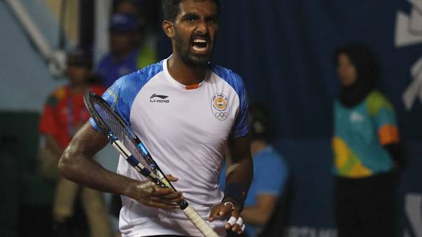Tennis - India's Gunneswaran rues singles drought back home