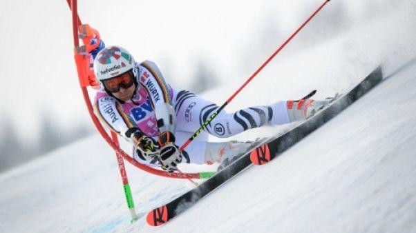 Ski alpin: l'Allemand Stefan Luitz souffre d'une luxation d'une épaule