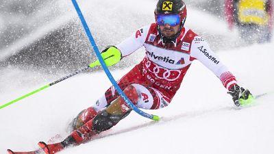 Sci: anche slalom Adelboden a Hirscher