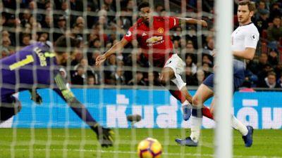 Angleterre: Manchester United et Solskjaer pas ralentis par Tottenham