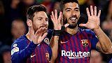 Barca: Suarez e Messi, Eibar sconfitto