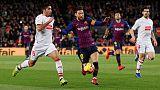 Messi scores 400th La Liga goal for Barca