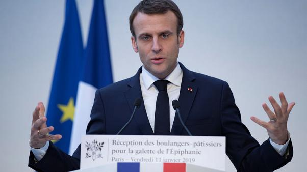 With 2,300-word letter, Macron launches debate to quell 'yellow vest' unrest