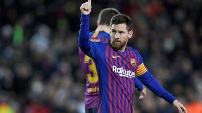 Espagne: les 400 coups de Messi, le Real à bout de souffle