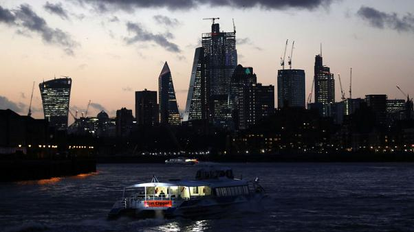 Brexit takes toll on Britain's financial sector, outlook weak
