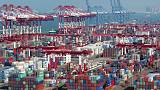 China's exports shrink most in two years, raising risks to global economy