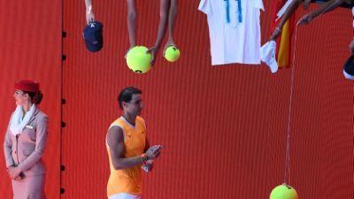 Open d'Australie: après quatre mois d'absence, Nadal rassure
