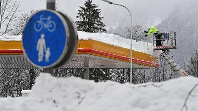 Pericolo valanghe 'forte' in Tirolo