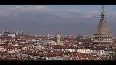 Vento su cime Piemonte, 15 gradi pianura