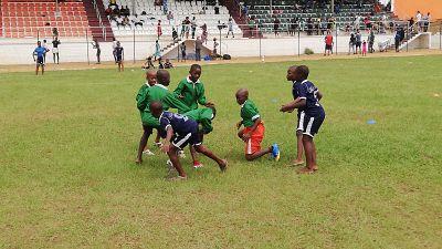 Côte d'Ivoire : Rugby-Championnat de jeunes, 300 enfants en attraction à Bingerville