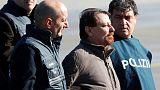 Leftist militant lands in Italy to serve life sentence for murder