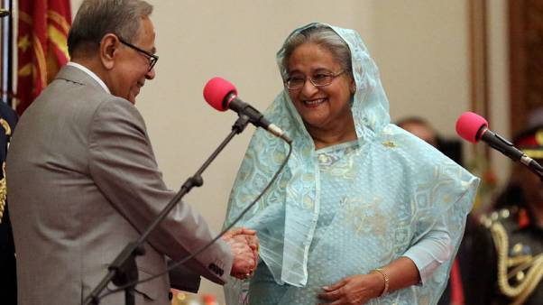 Bangladesh PM to meet opposition which still rejects poll results