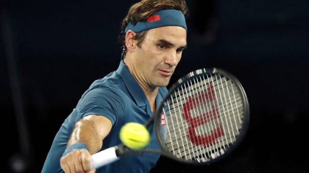 Federer serves up dominant first round win against Istomin