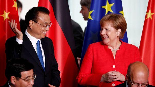 Merkel planning EU-China summit for Germany's 2020 presidency - sources
