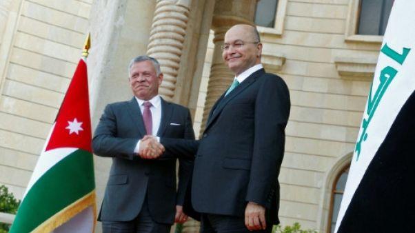 Rare visite du roi jordanien en Irak, théâtre d'un ballet diplomatique